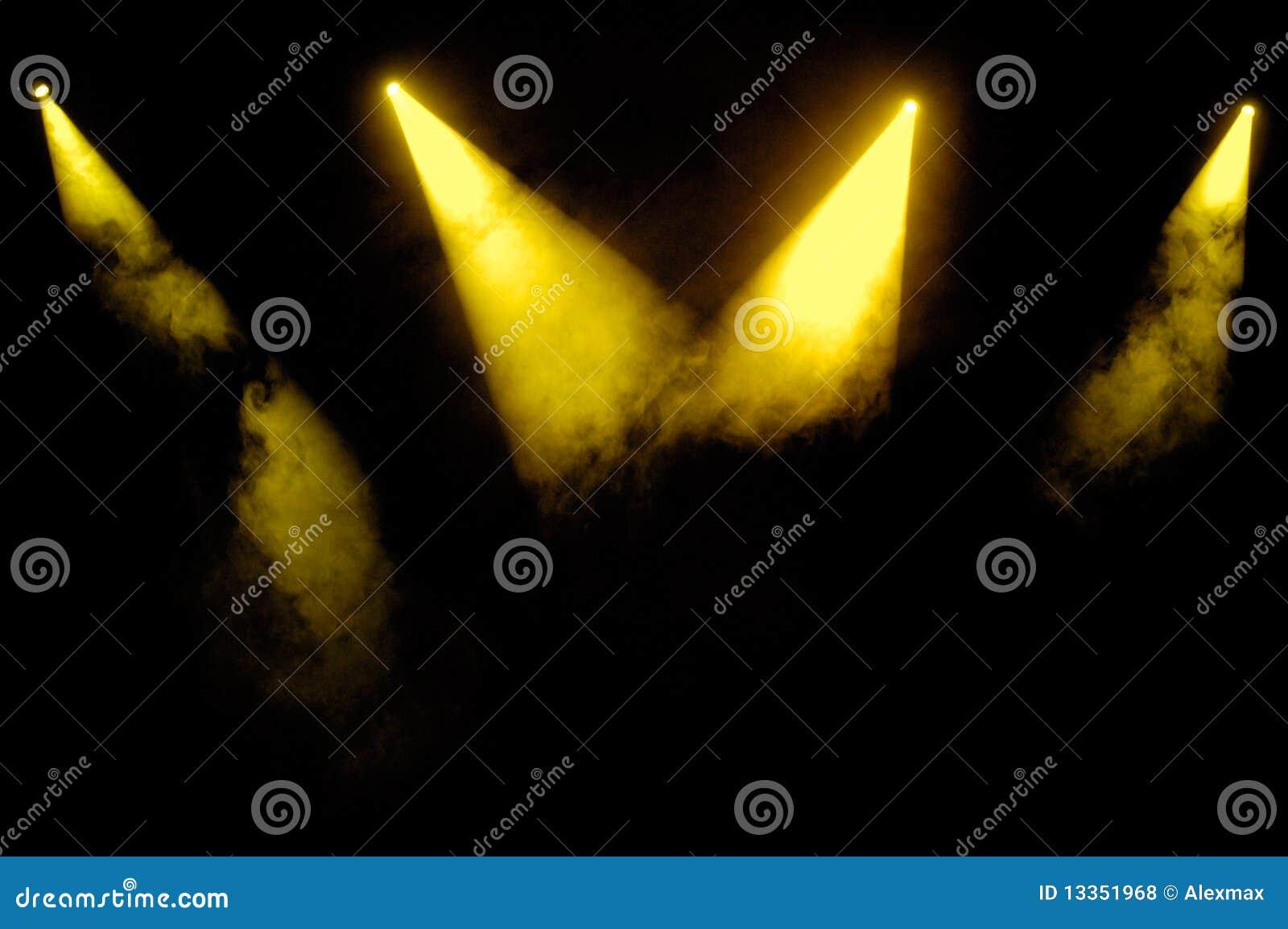 Riflettori gialli