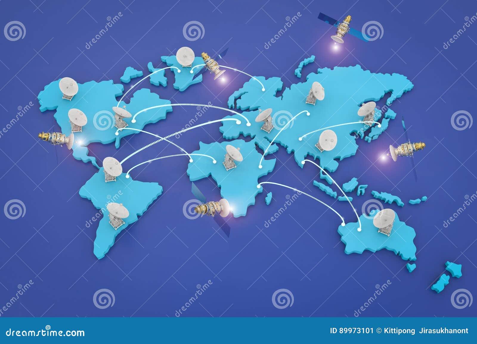 Riflettori parabolici per la comunicazione globale