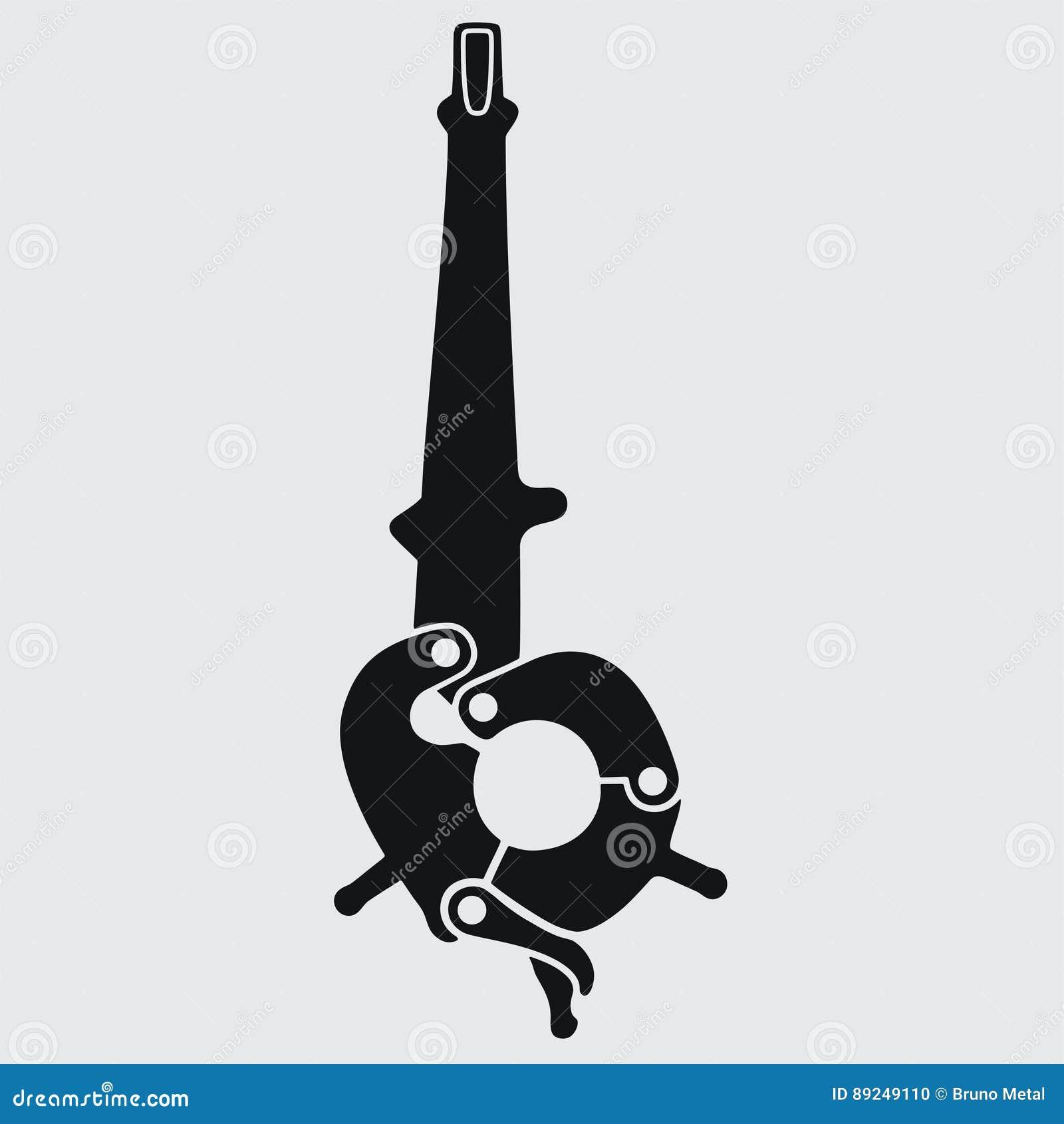 Rig-tong stock vector  Illustration of petroleum, floor - 89249110