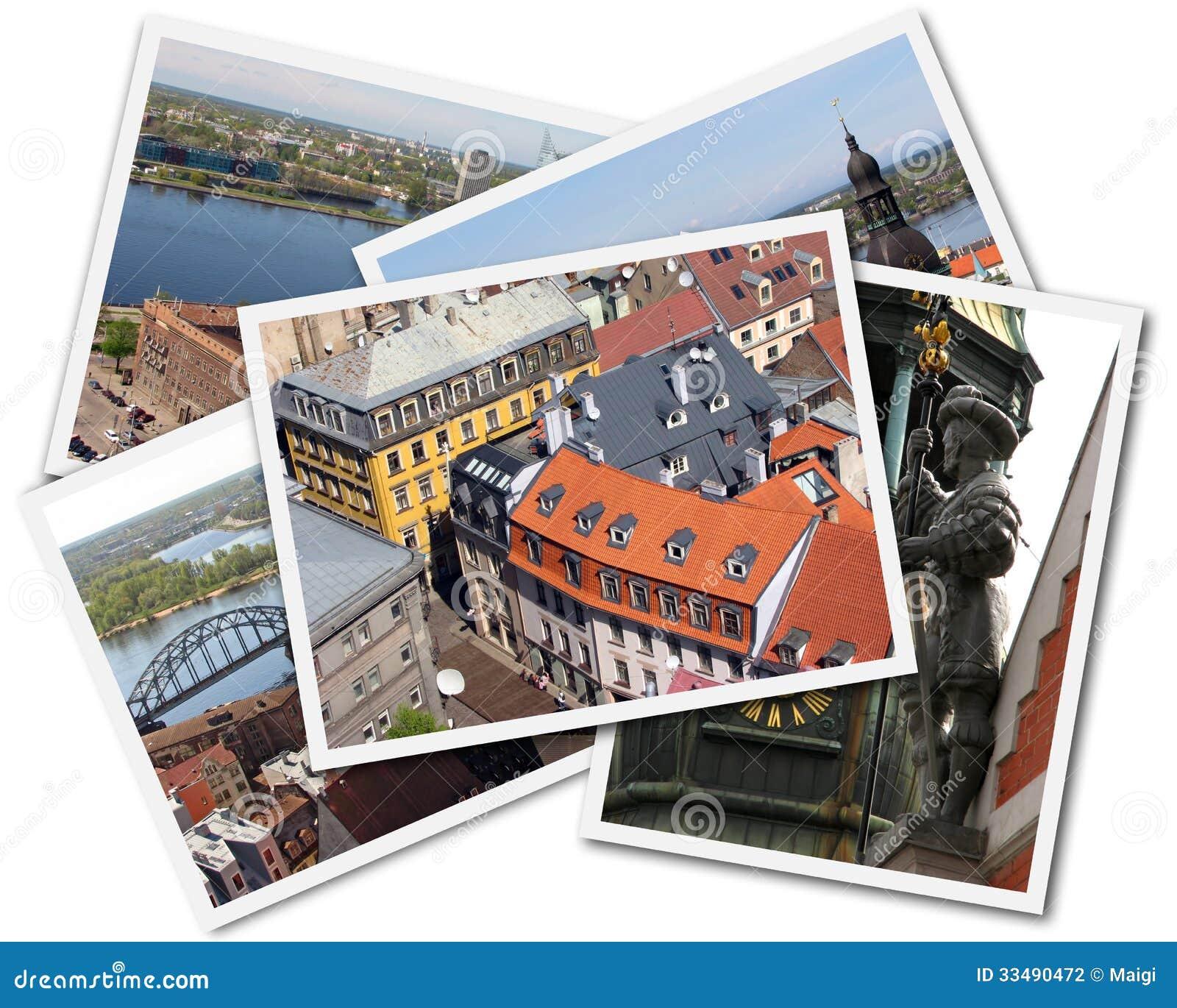Download Riga Collage stock photo. Image of photograph, latvija - 33490472
