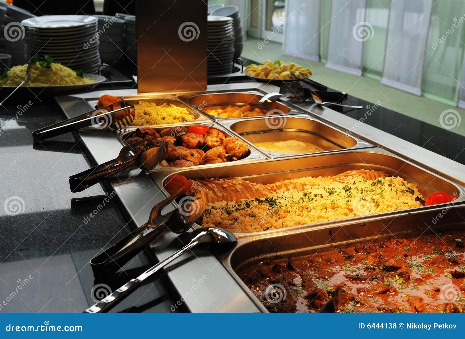 Riga del buffet