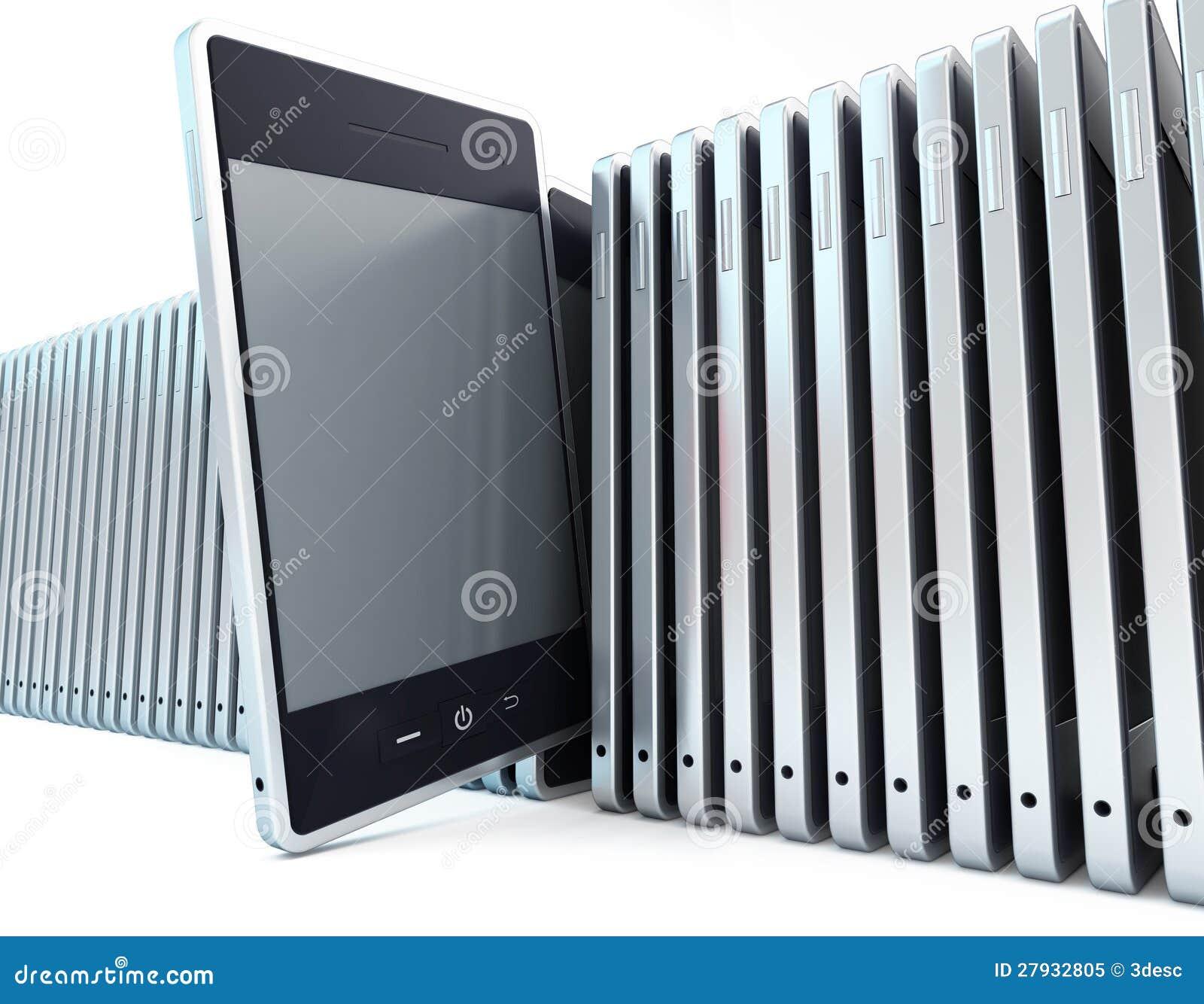 Riga del telefono mobile fotografia stock libera da for Mobile telefono