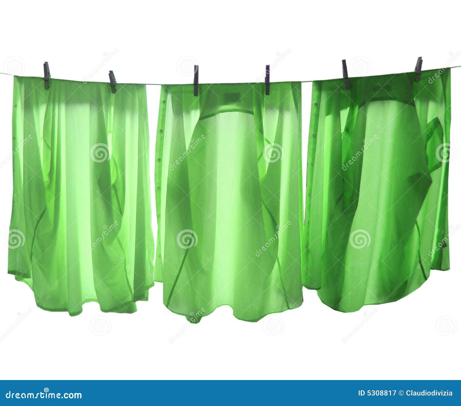 Download Riga della lavanderia immagine stock. Immagine di camicia - 5308817