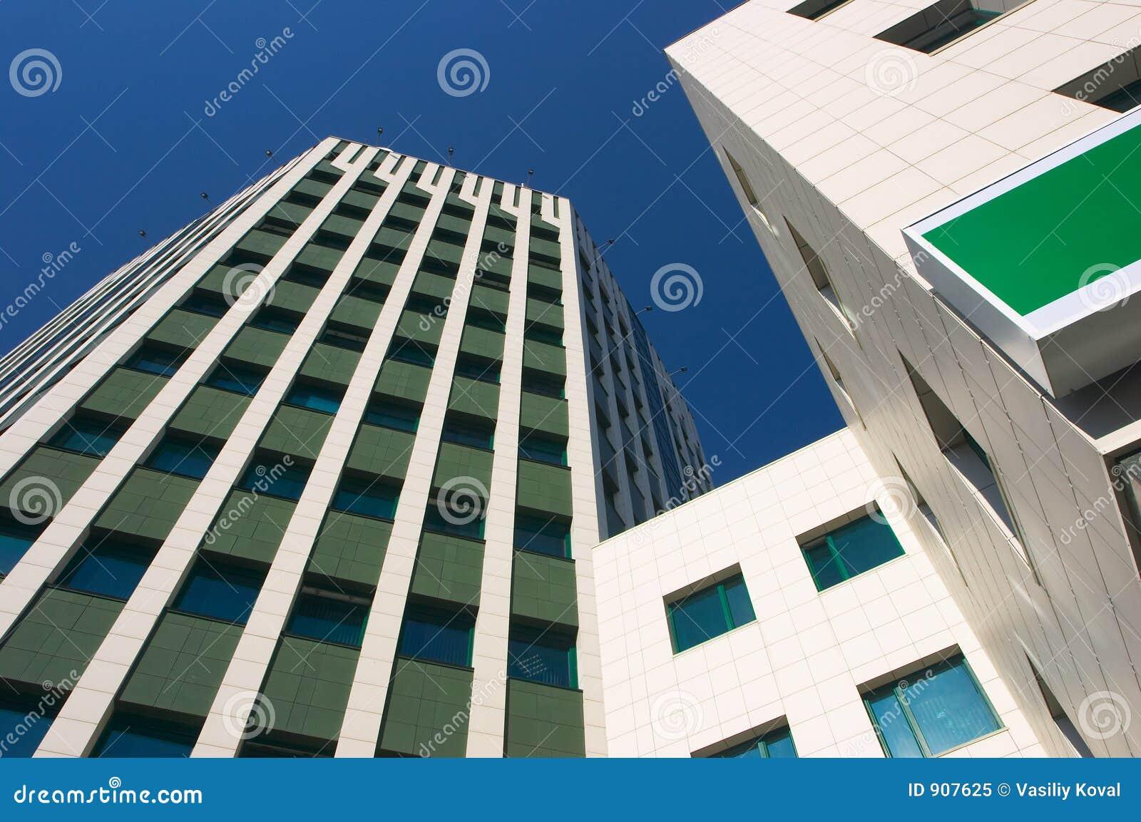 Riga di architettura moderna immagine stock immagine 907625 for Architettura casa moderna