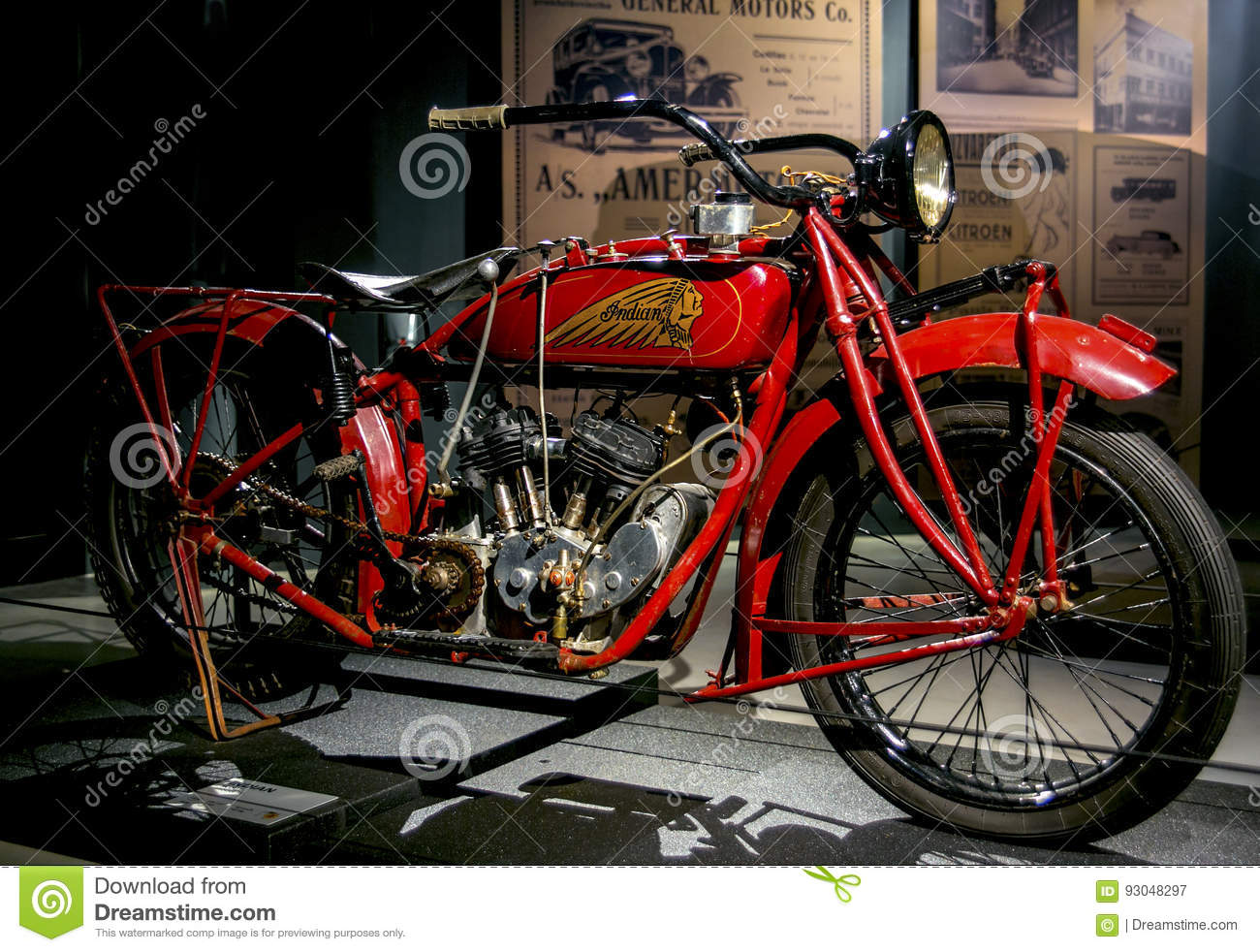 Indian Scout 600cc Motorcycle Auctions - Lot AA - Shannons