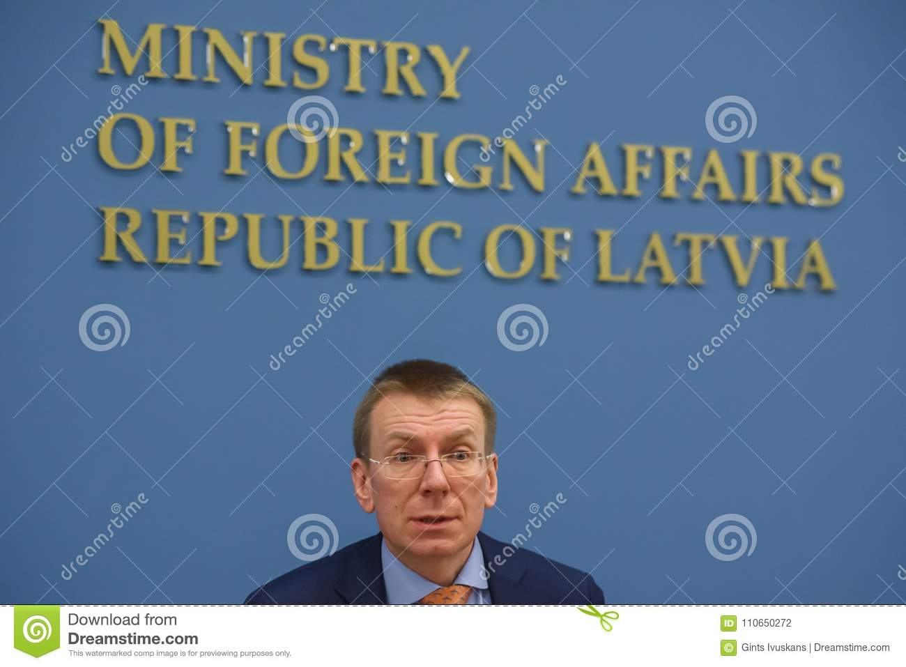 Edgars Rinkevics, Minister of Foreign Affairs of Latvia