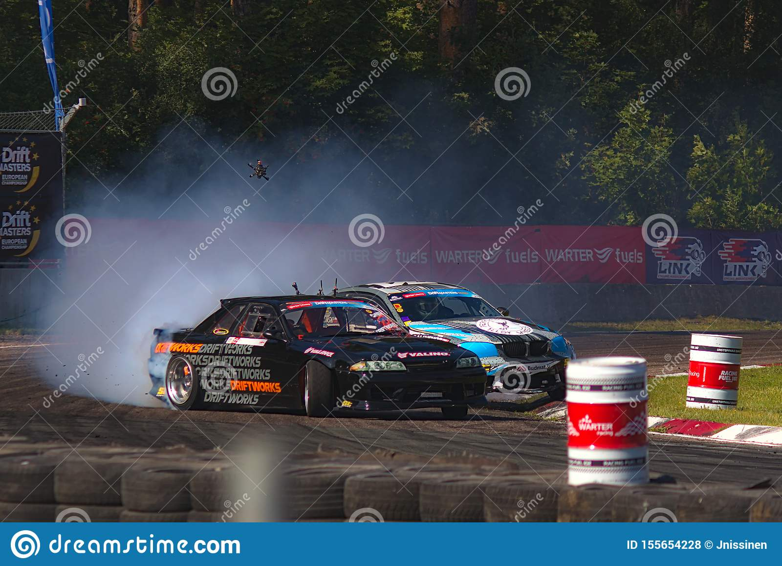 Riga, Lettland - 2. August 2019 - Pawel Korpulinski gegen Martin Richards