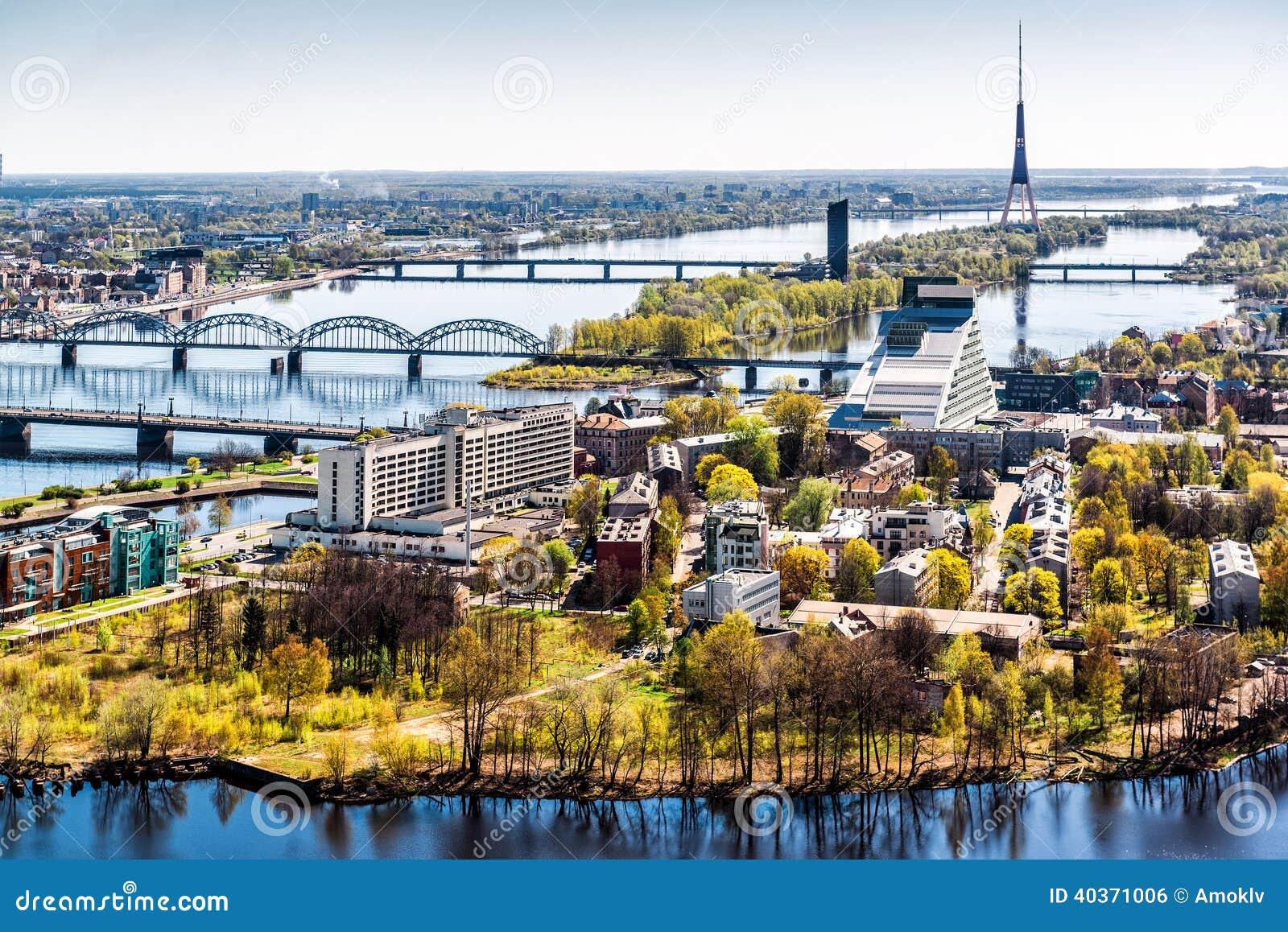 Riga-Stadt. Lettland