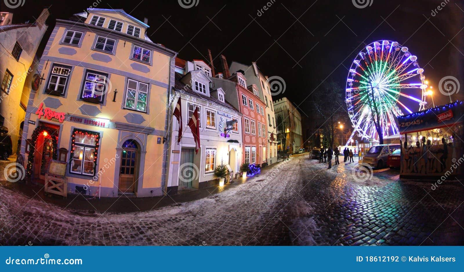 Riga vieja, Latvia