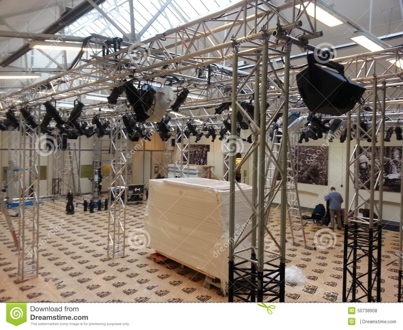 Rigging editorial stock photo  Image of event, sound - 50738908