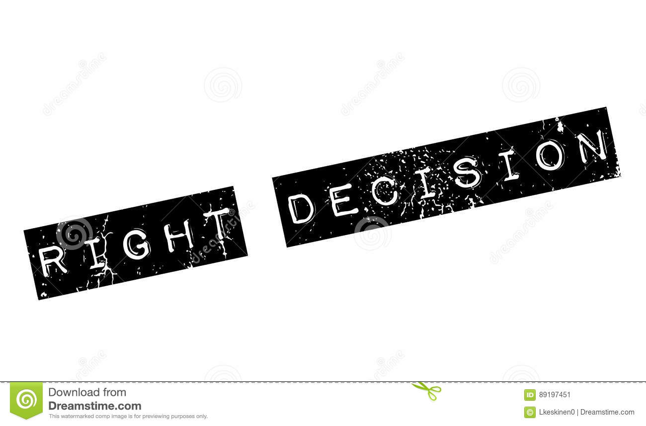 right decision The right decision: evidence-based decision making for police service  professionals about the authors paul maxim, professor, wilfrid laurier  university.
