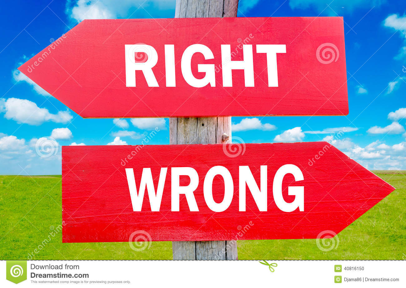 ethical dilemma right or wrong Is there any way to know the difference between right and wrong a keen notion of what was right and what was wrong morality and ethics advancing.