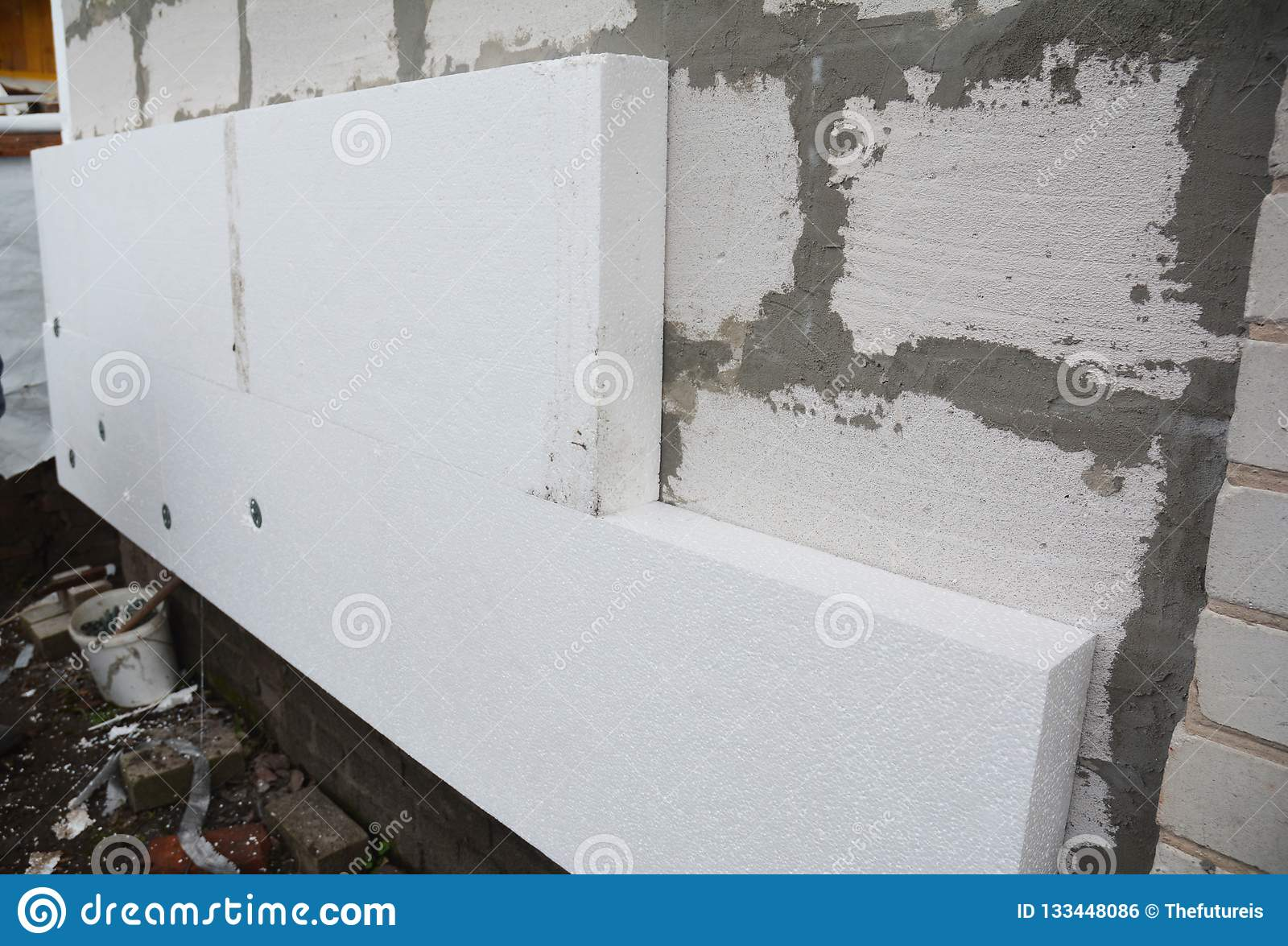 Rigid Extruded Polystyrene House Wall Insulation  Insulating House