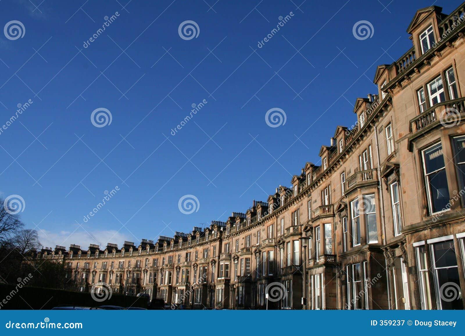 Rij van de Huizen van Edinburgh