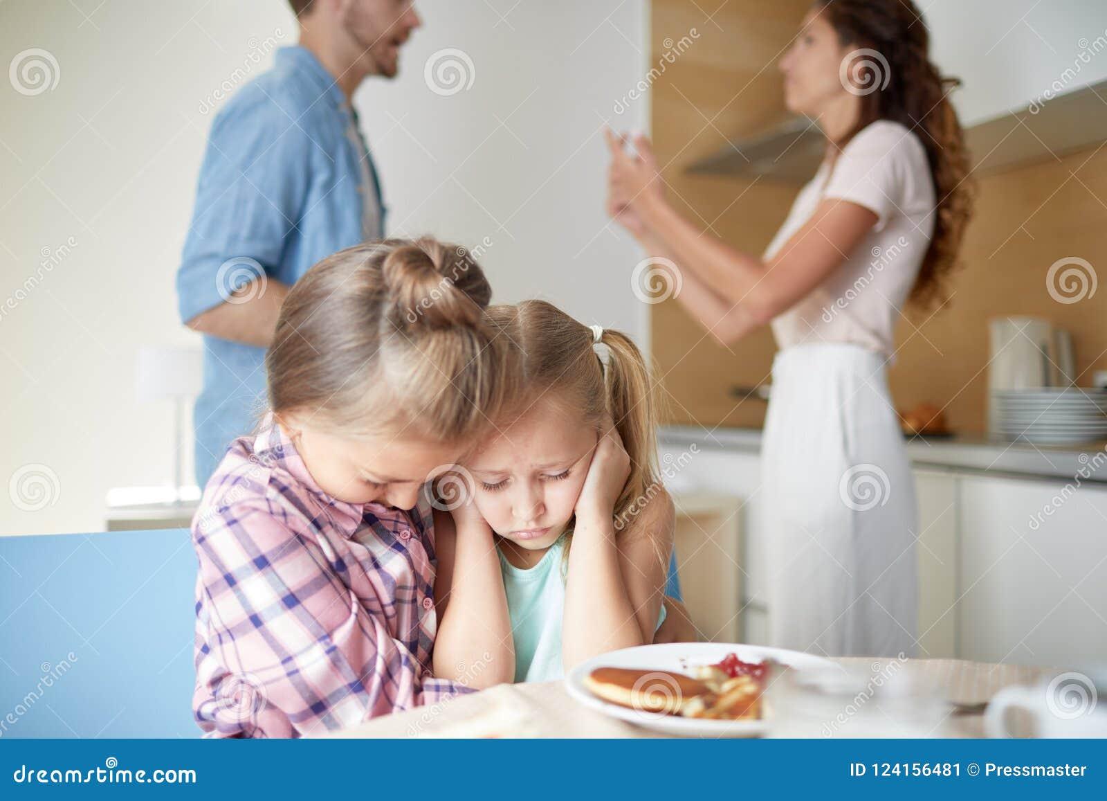 Rij van ouders