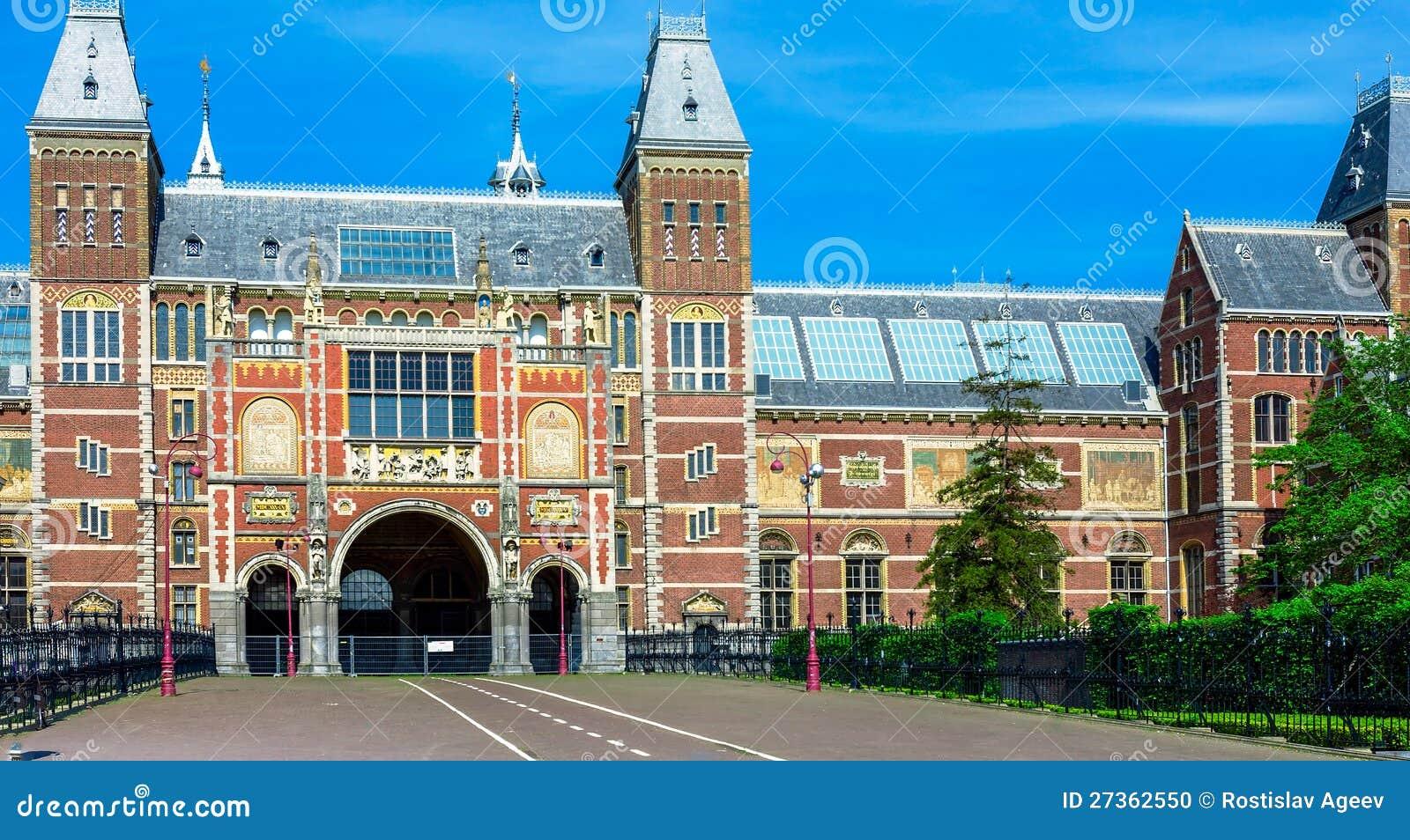 Rijksmuseum - nationellt museum, Amsterdam