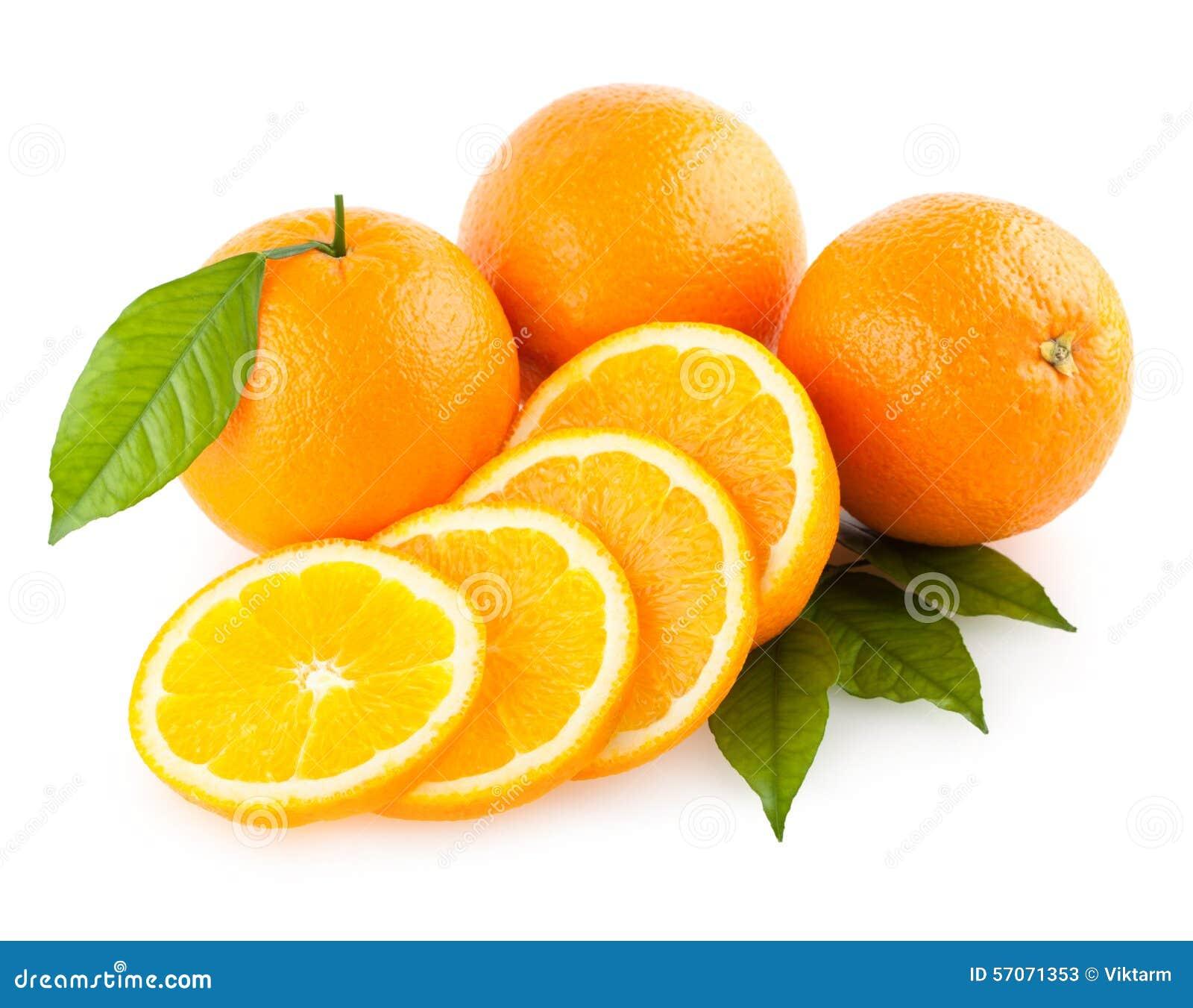 Rijpe sinaasappelen
