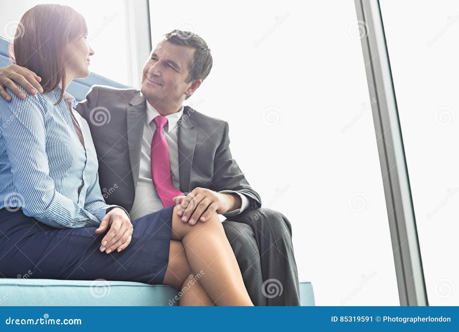 Chefin flirten
