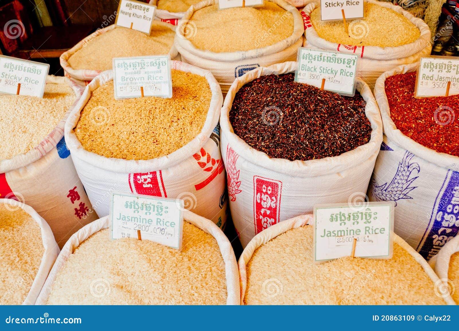 Rijst voor Verkoop