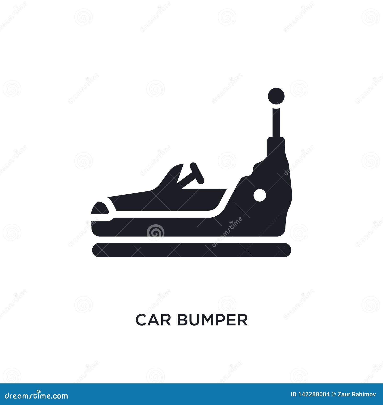Riklig isolerad symbol för bil enkel beståndsdelillustration från symboler för bildelbegrepp för logotecken för bil riklig redige