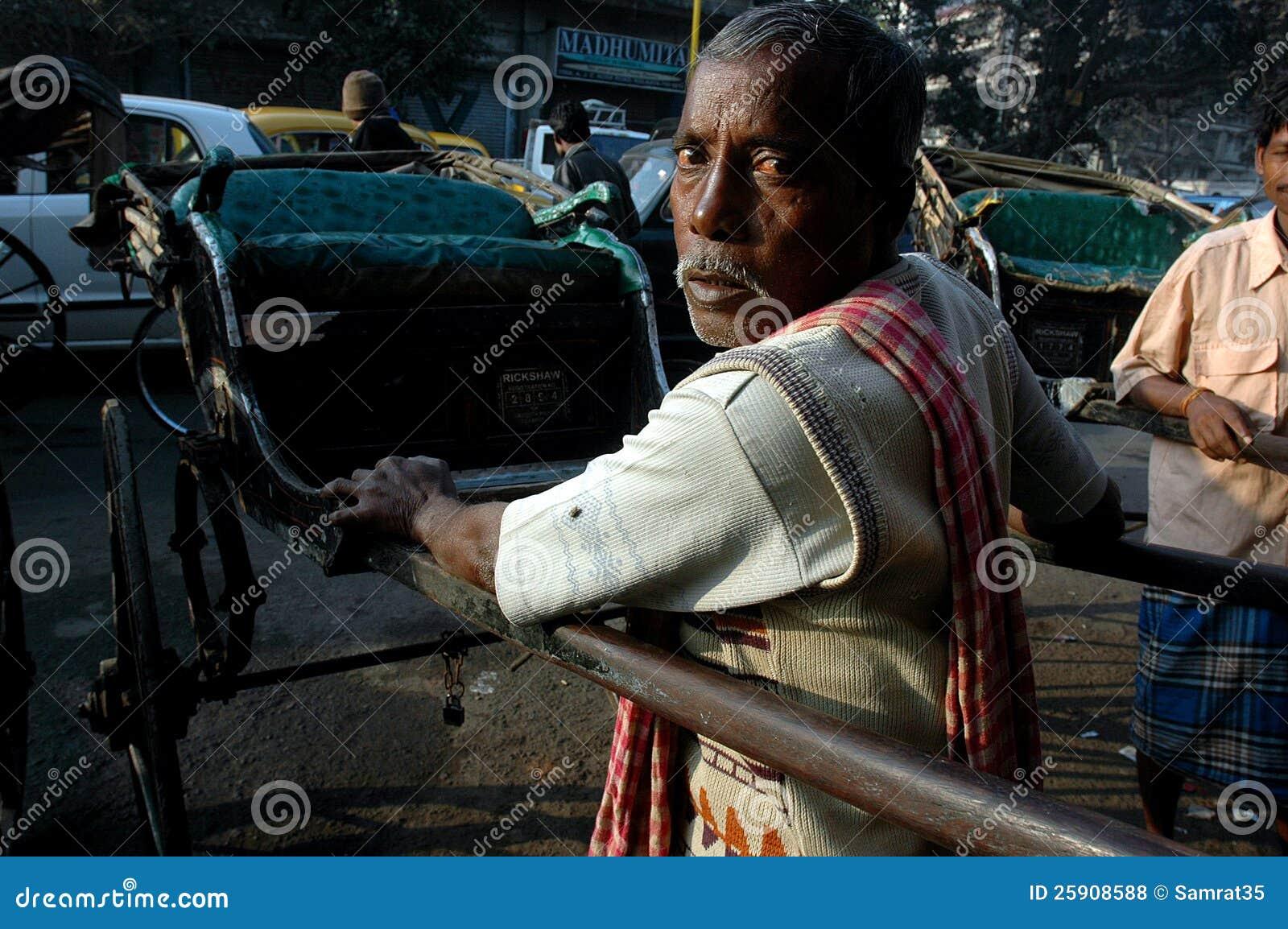 Rikscha in Kolkata