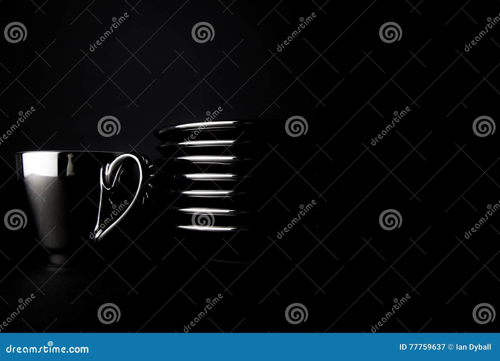 Rikt svart kaffe