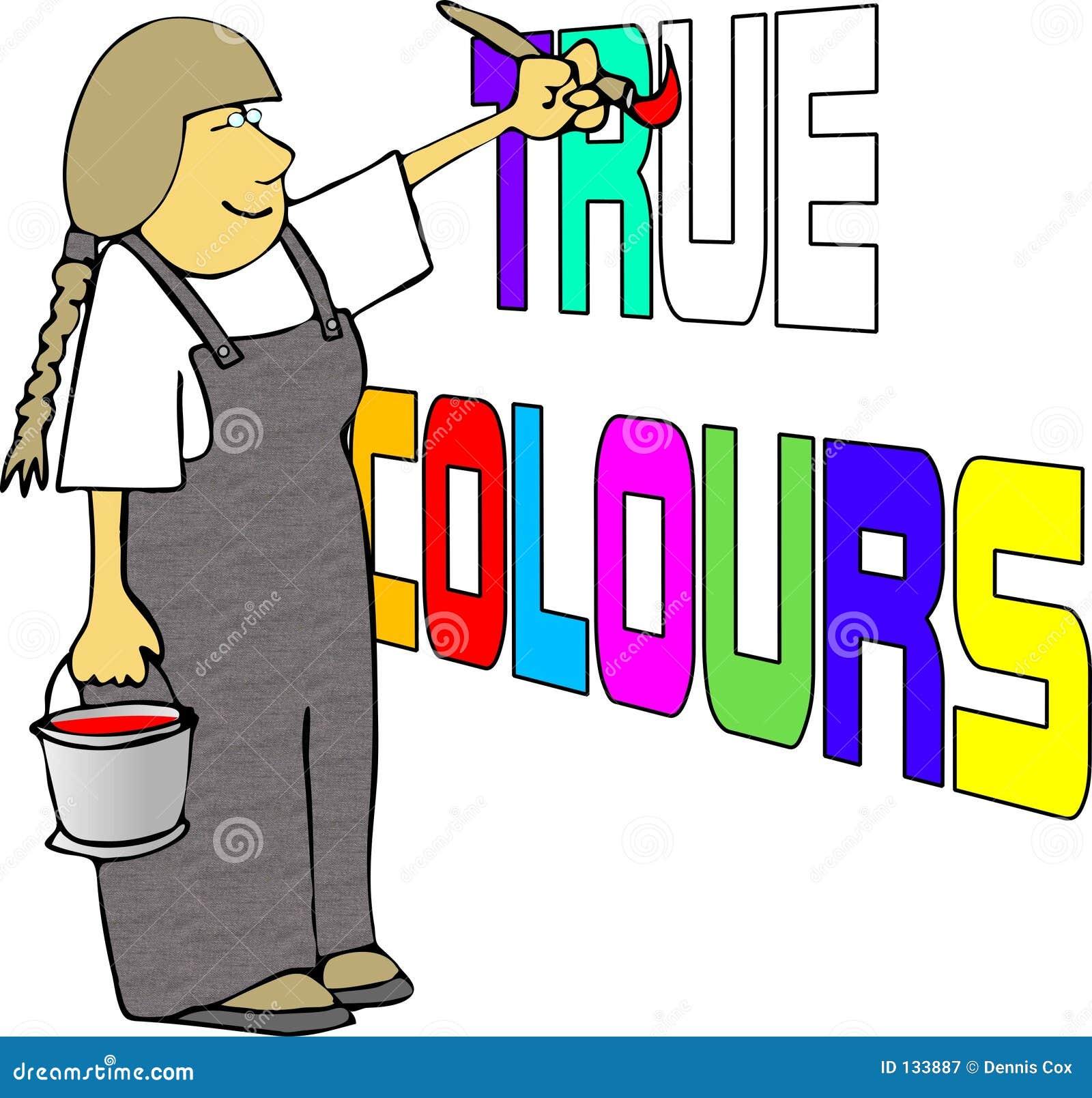Riktiga färger