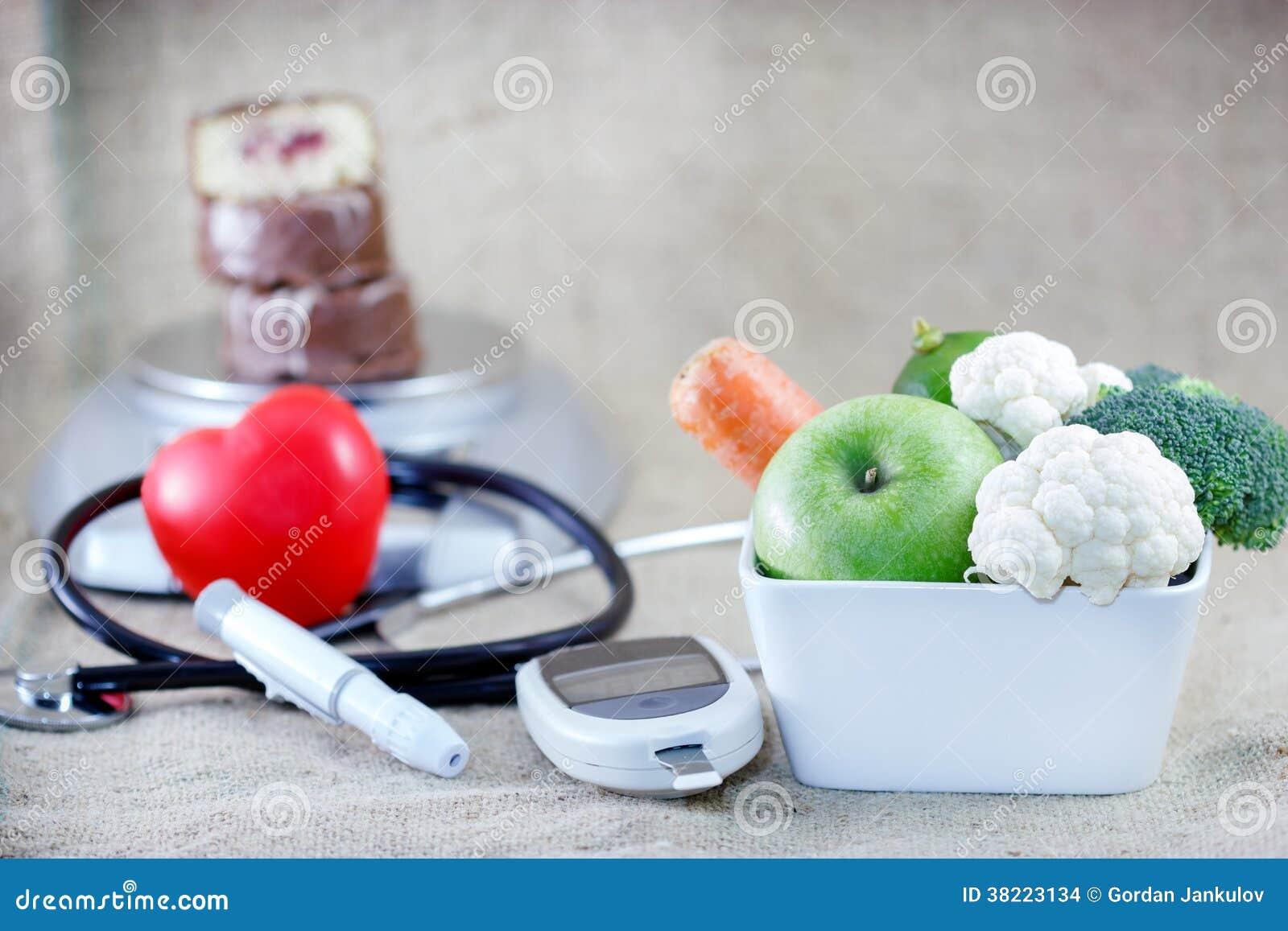 Riktigt och allsidig kost som undviker sockersjuka