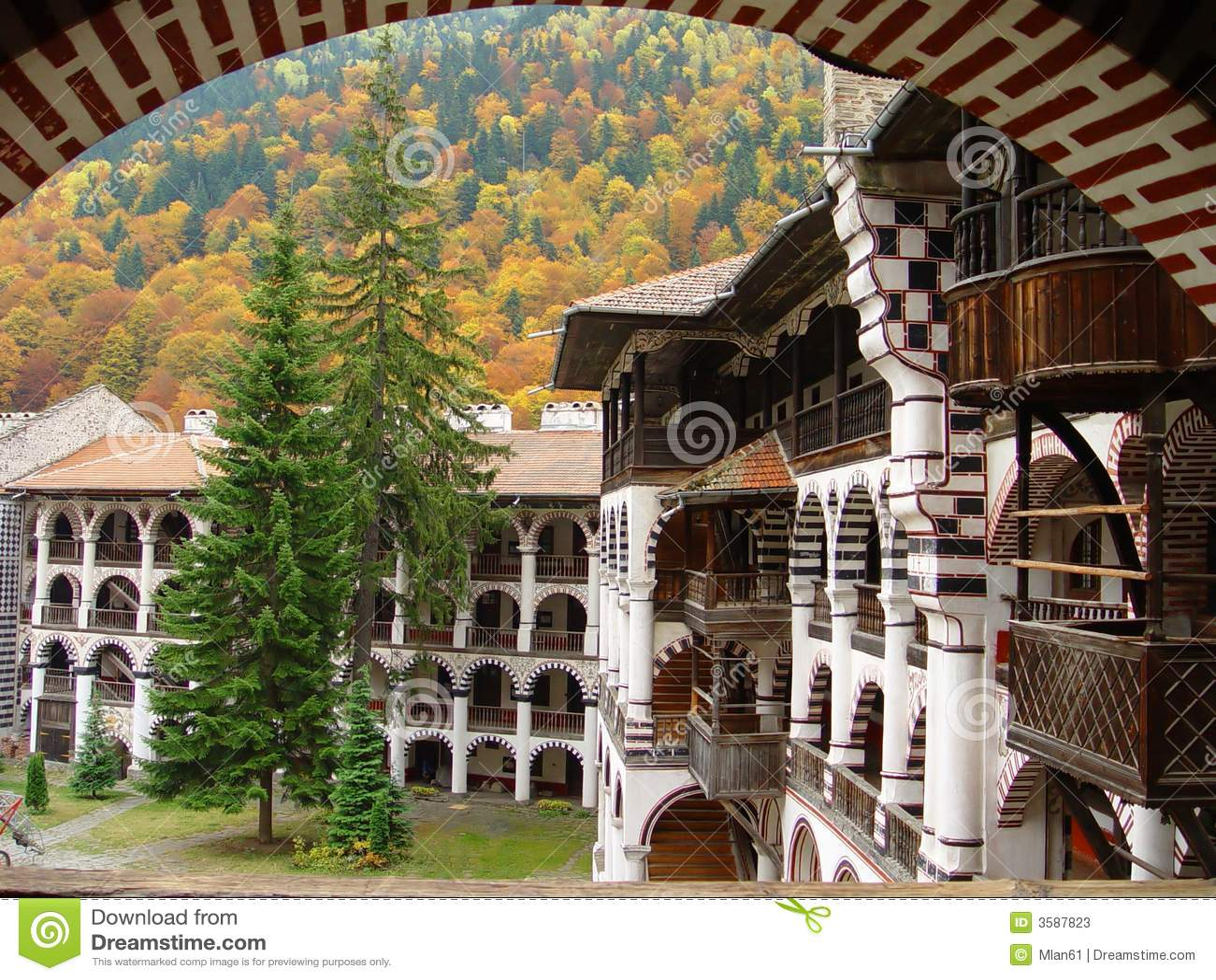 Rila скита Болгарии