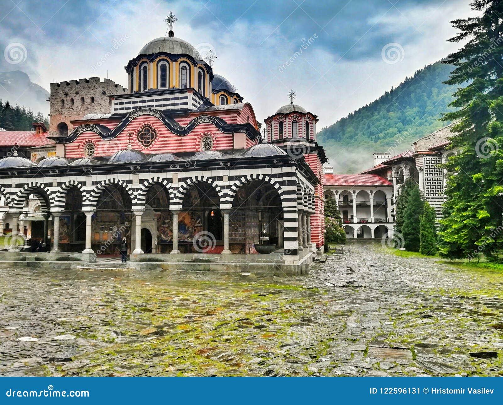 Rila Kloster Bulgarien