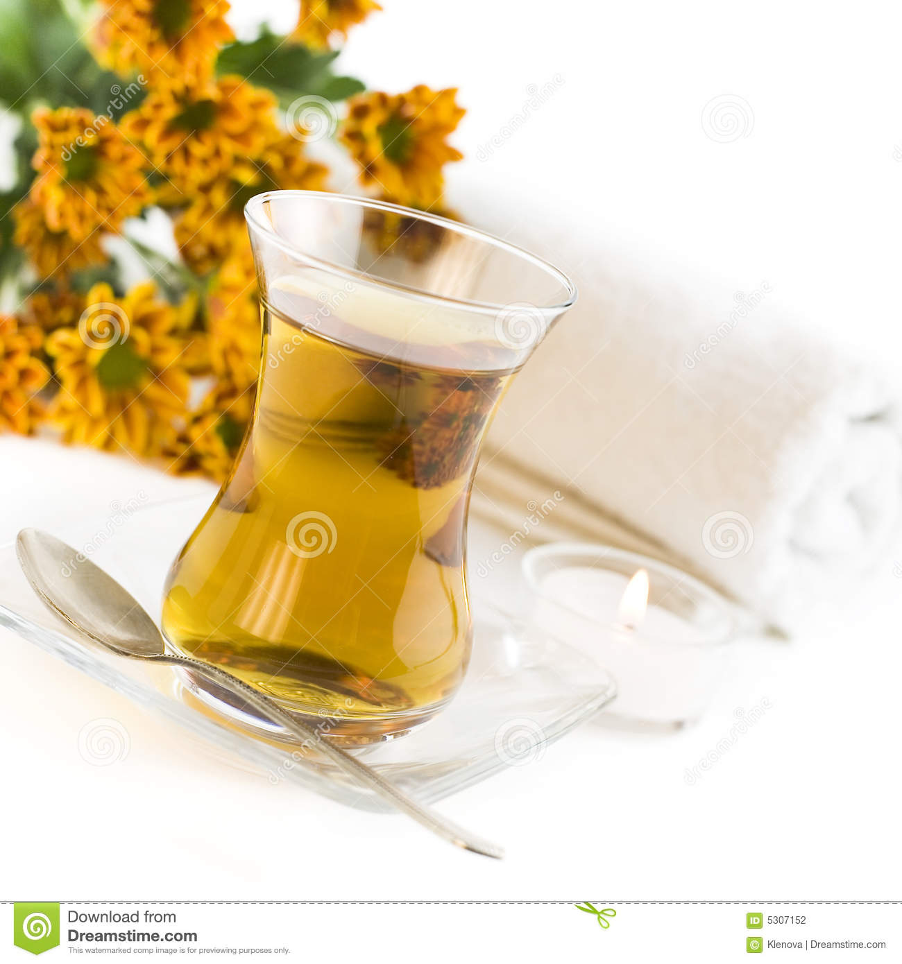 Download Rilassamento fotografia stock. Immagine di bevanda, herbal - 5307152