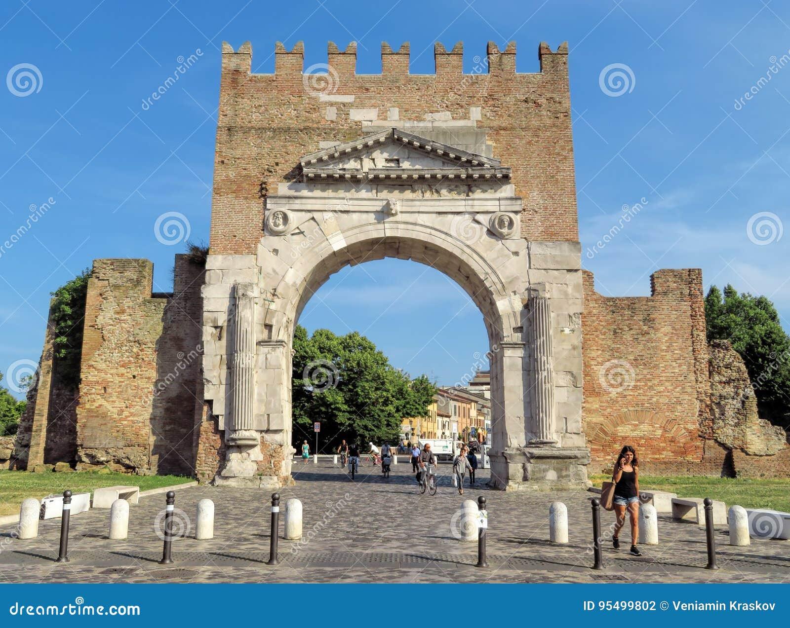 Rimini - Augustus Arch
