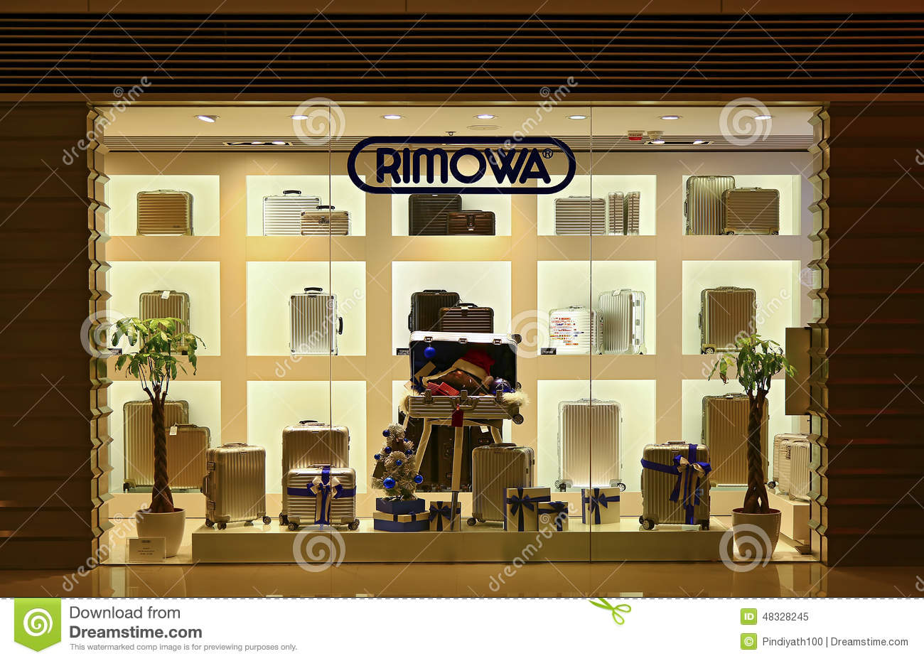 Rimowa Luggage Store Editorial Image - Image: 48328245