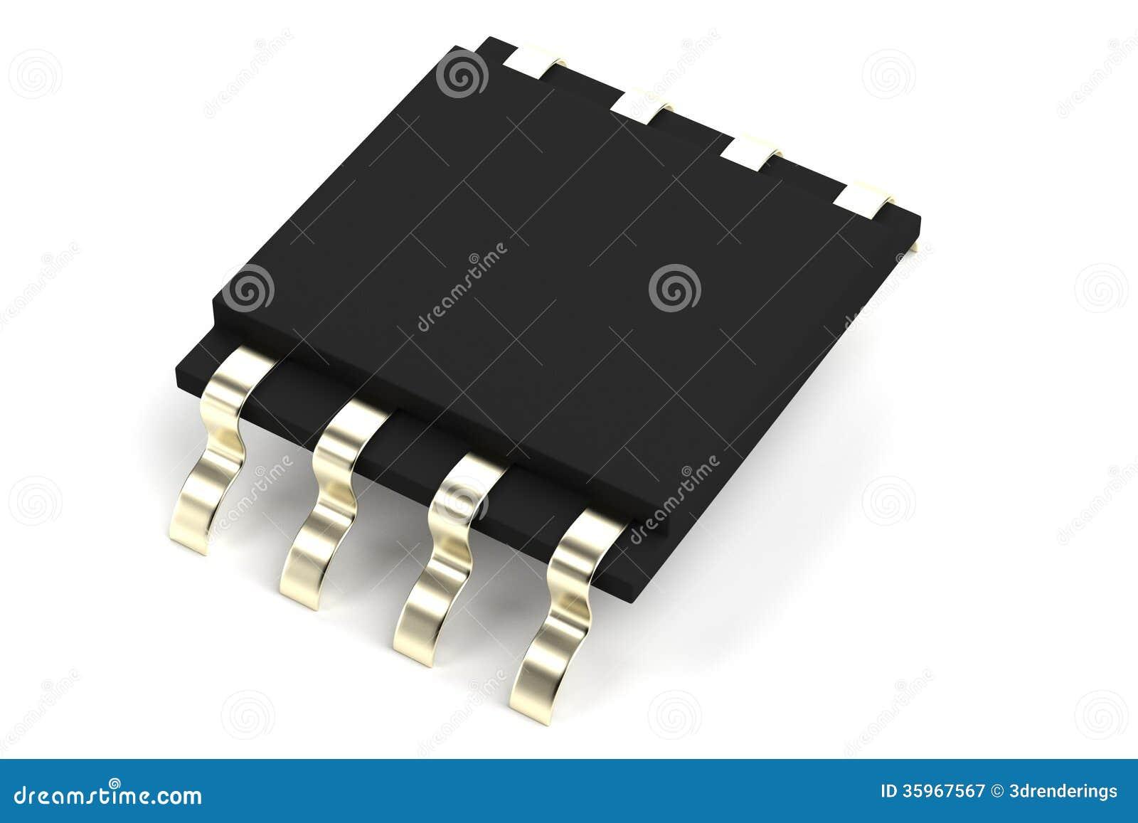 Rinda de componente electrónico