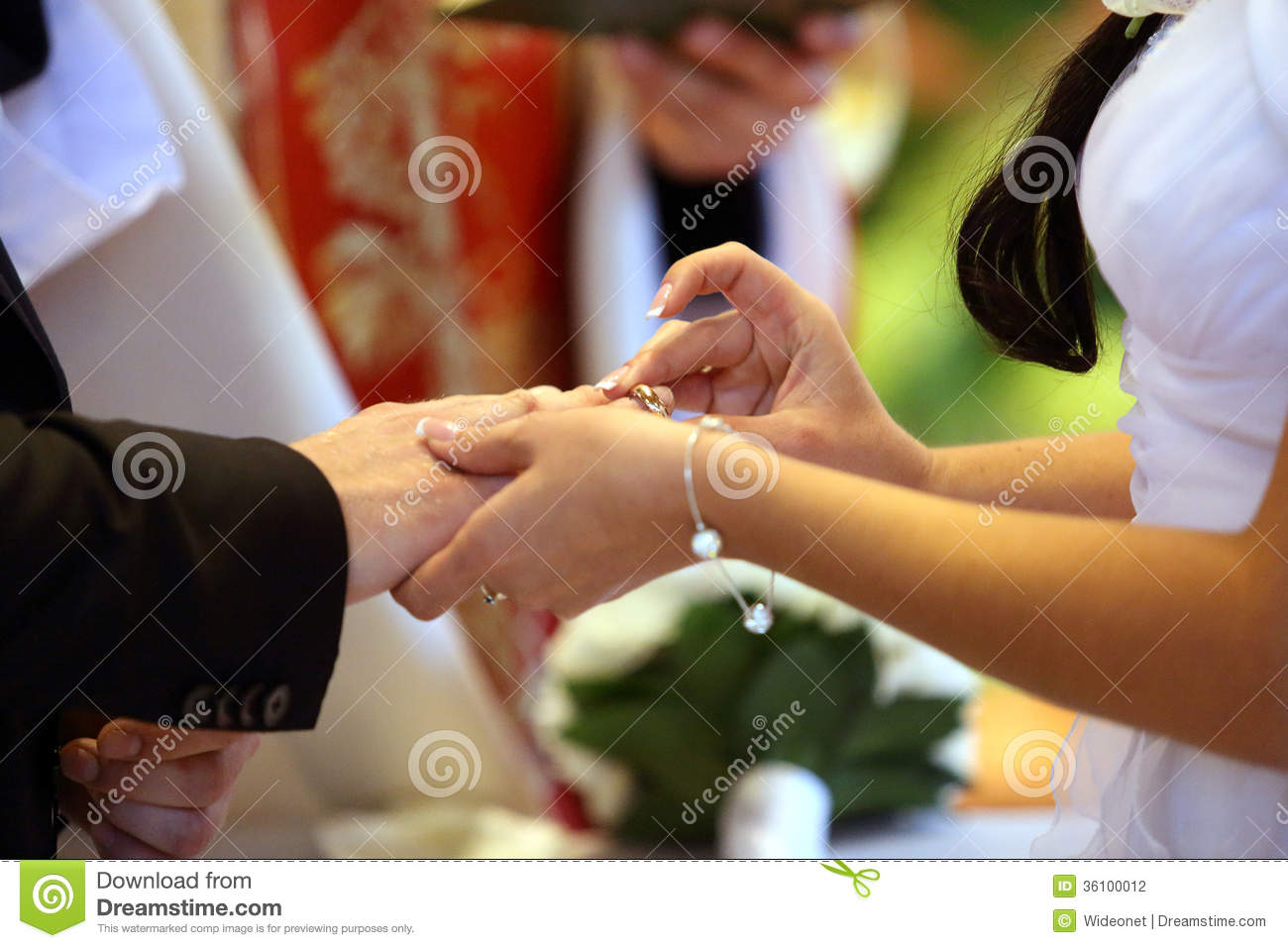 ring exchange stock photography image 36100012