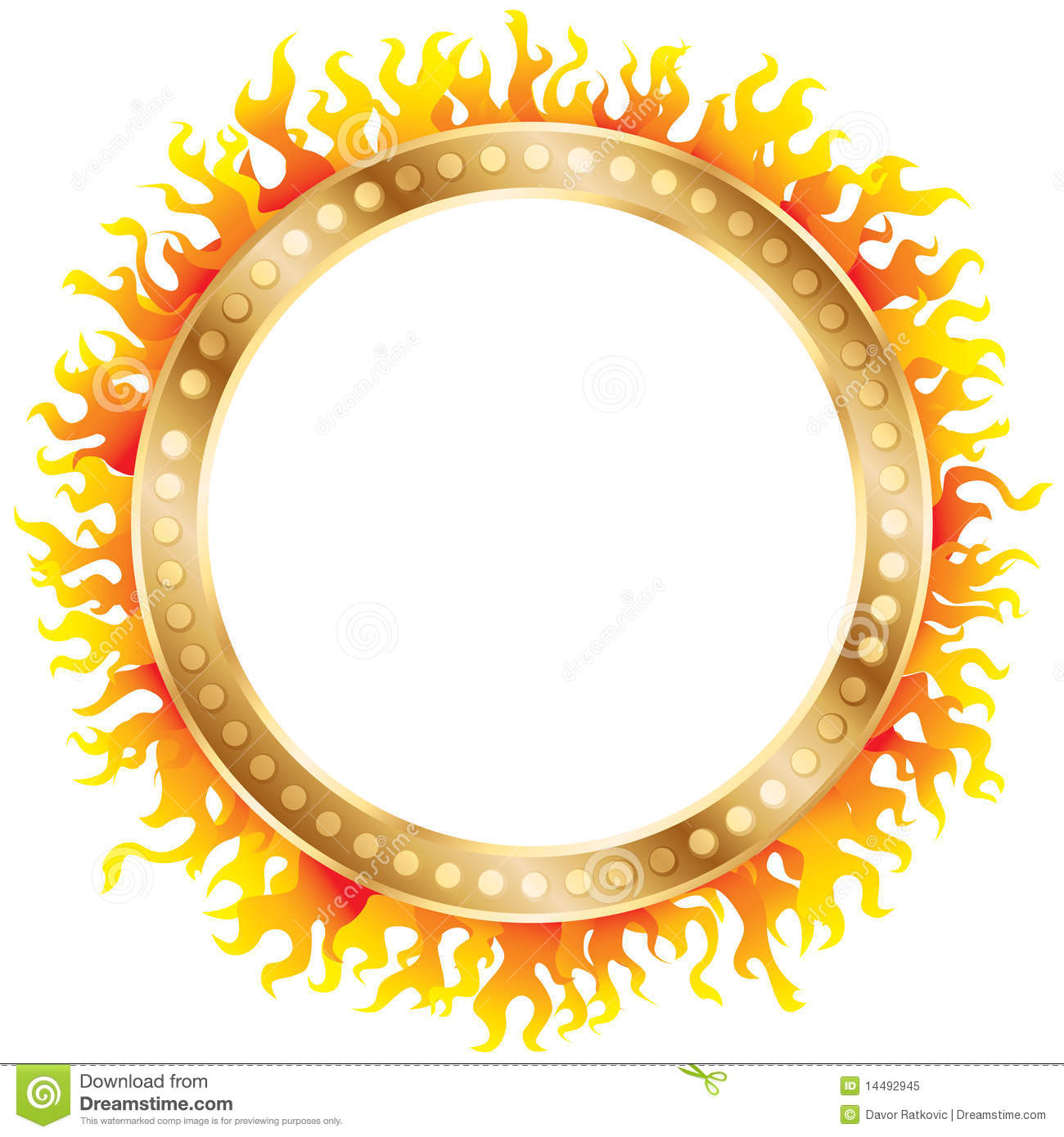 Ring Of Fire Royalty Free Stock Photo - Image: 14492945