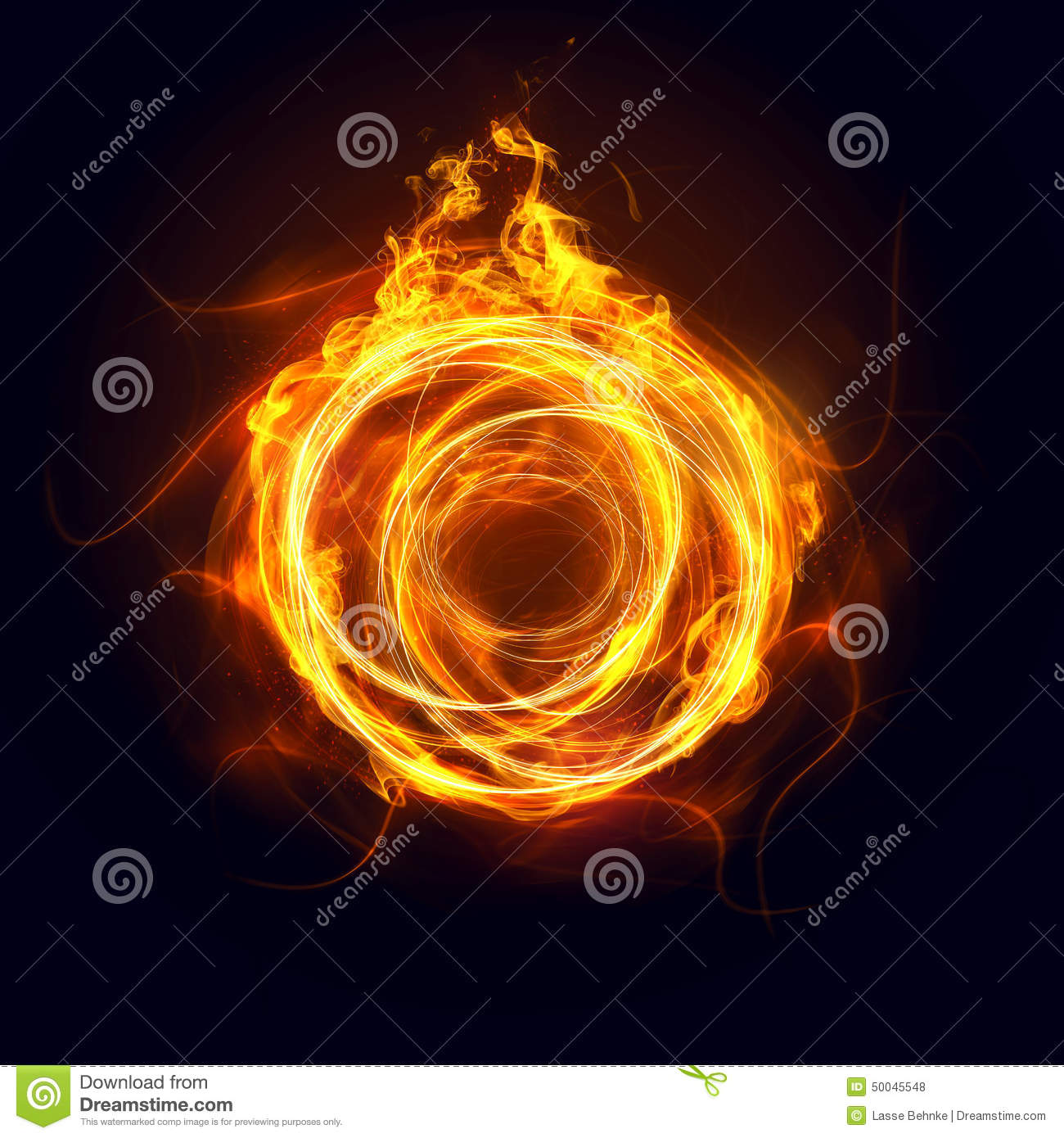 ring of fire stock photo image of element design shine 50045548