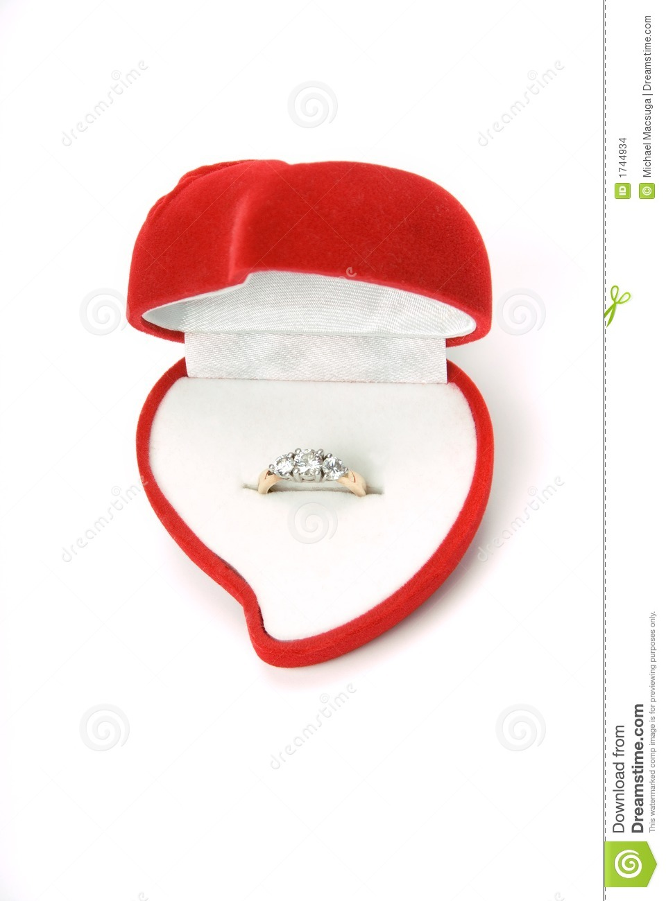 Ring in heart box 002 stock images image 1744934 for Heart ring box