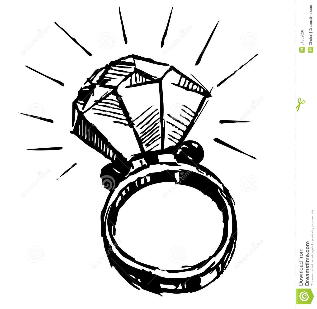 Picture Of Ring Easy To Draw