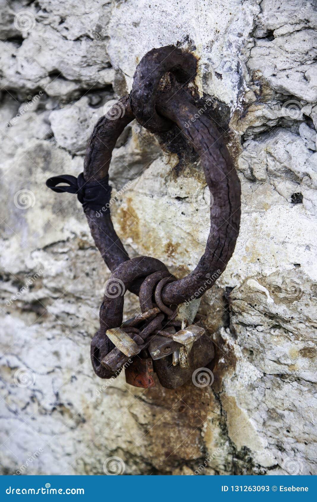 Ring op een dok