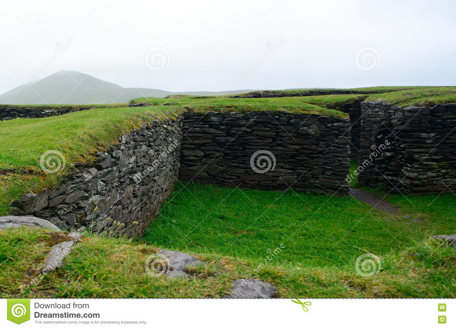 Ringfort, Leacanabuile, Ierland