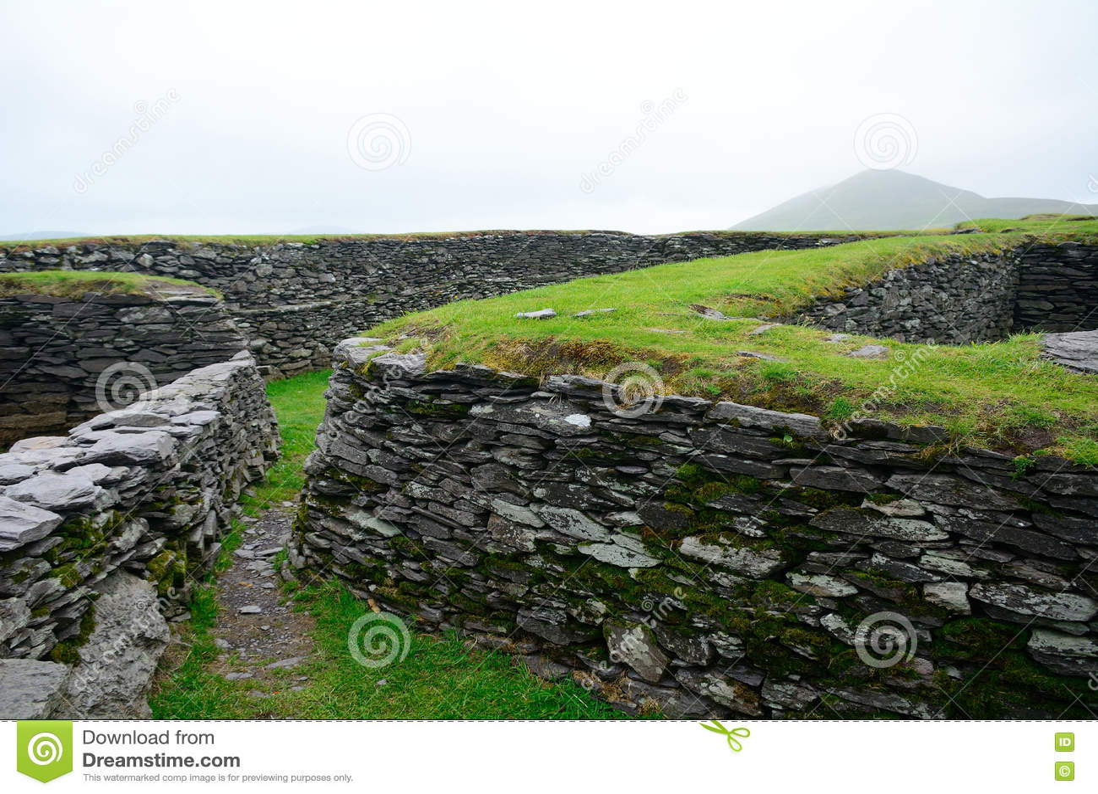 Ringfort Leacanabuile, Irland