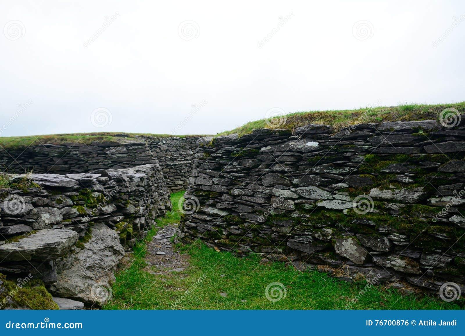 Ringfort, Leacanabuile, Irlanda