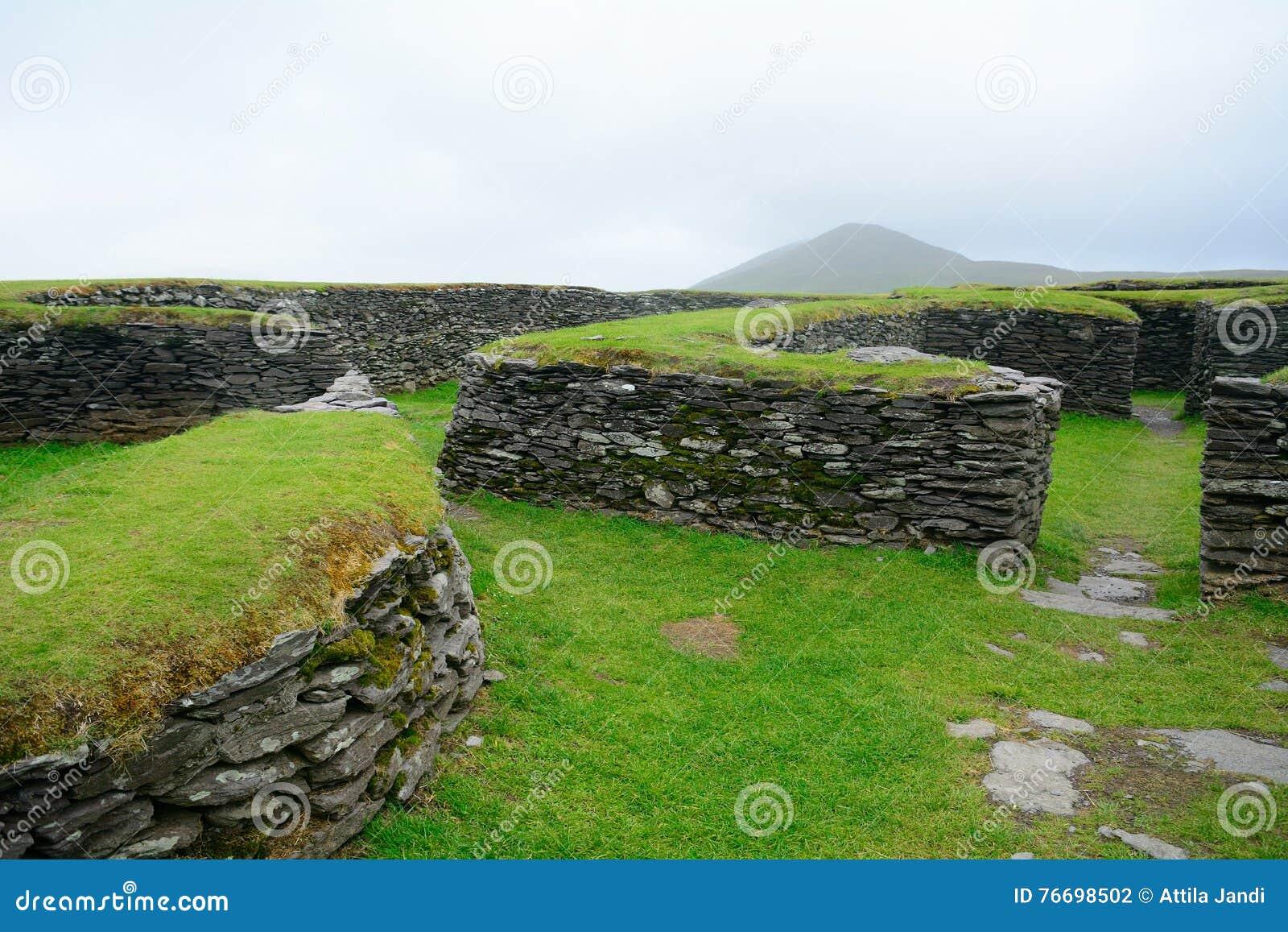 Ringfort, Leacanabuile, Irlandia