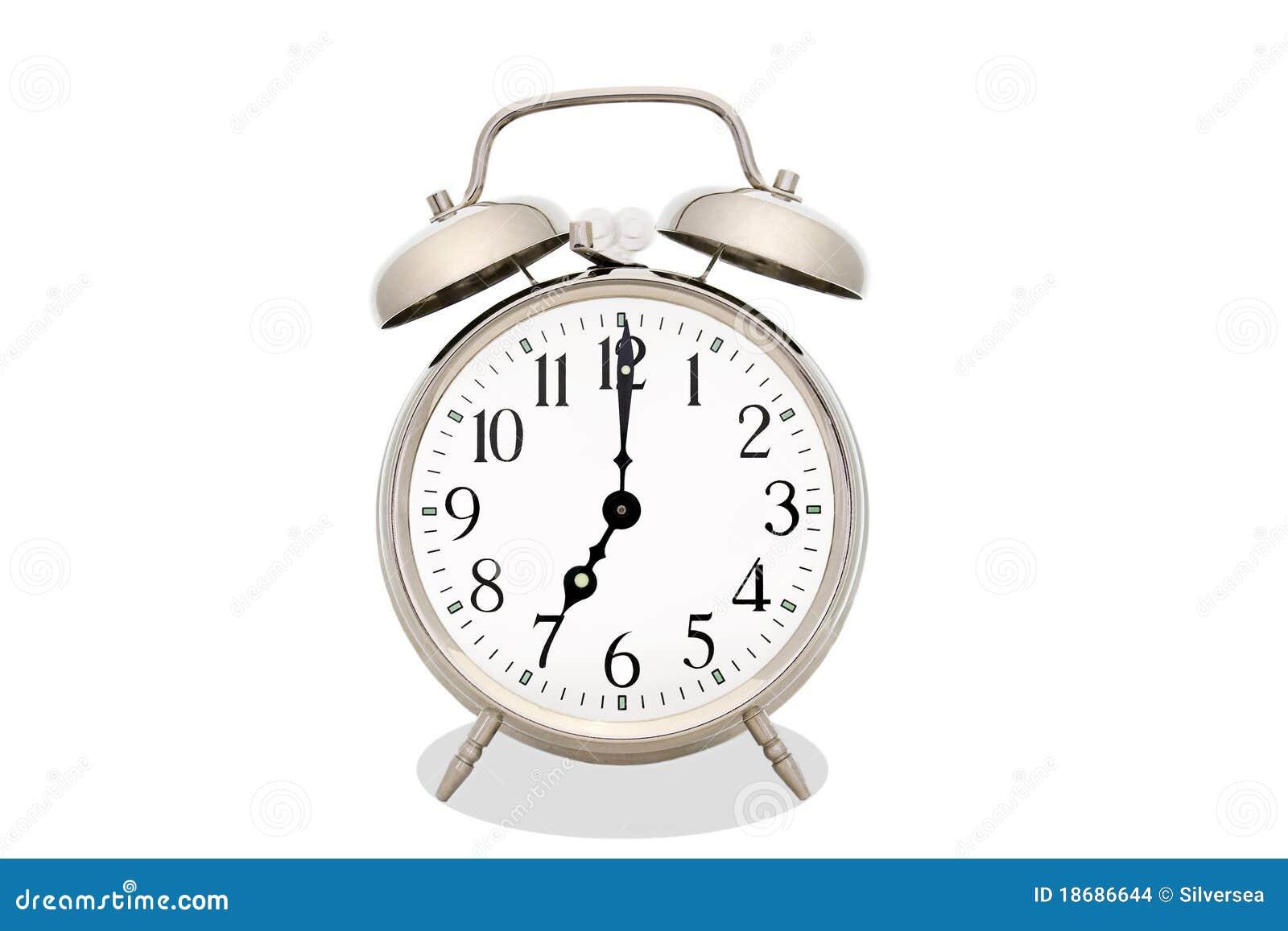Ringing Alarm Clock Stock Images - Image: 18686644