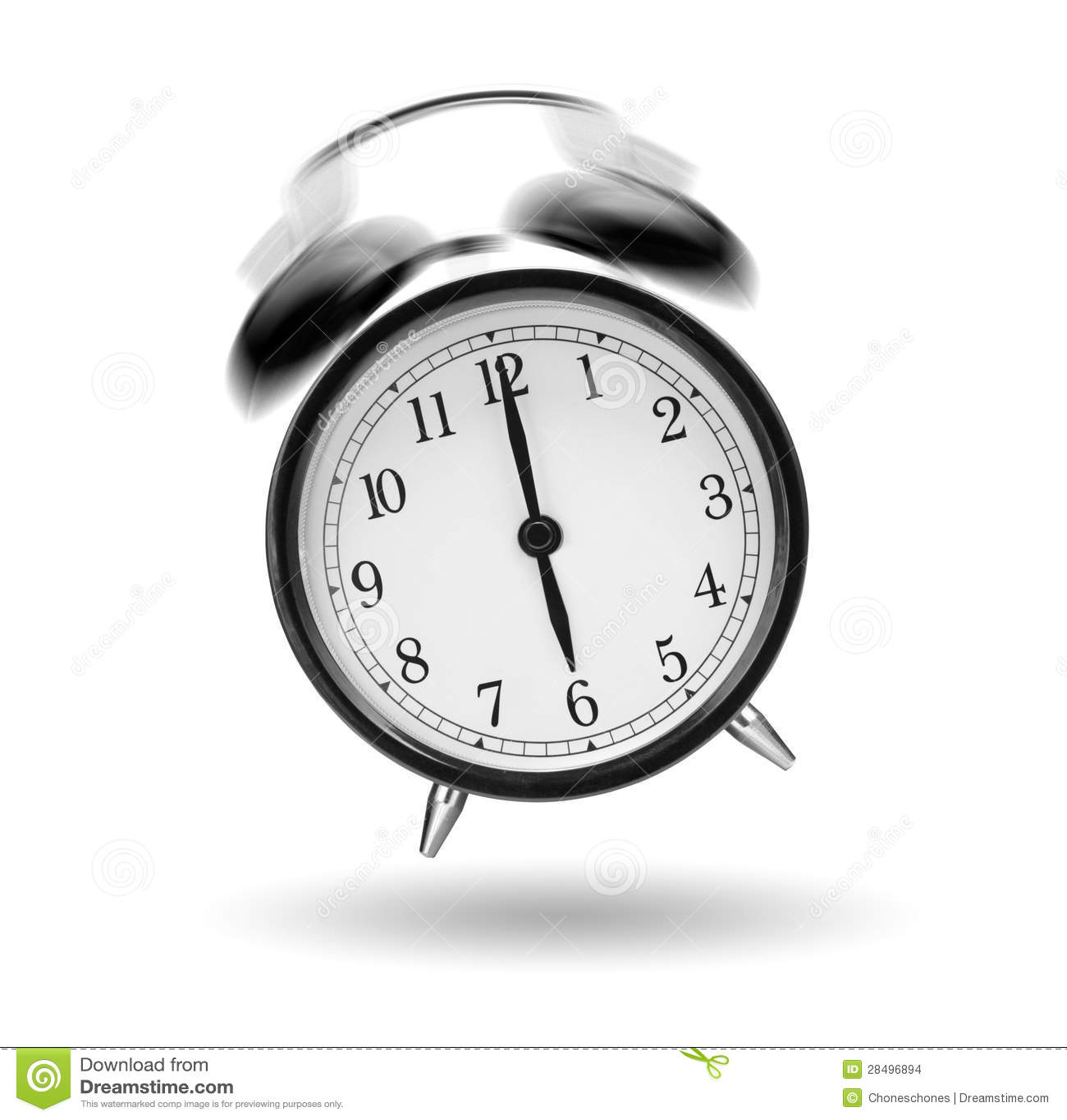Ringing Alarm Clock Stock Images - Image: 28496894