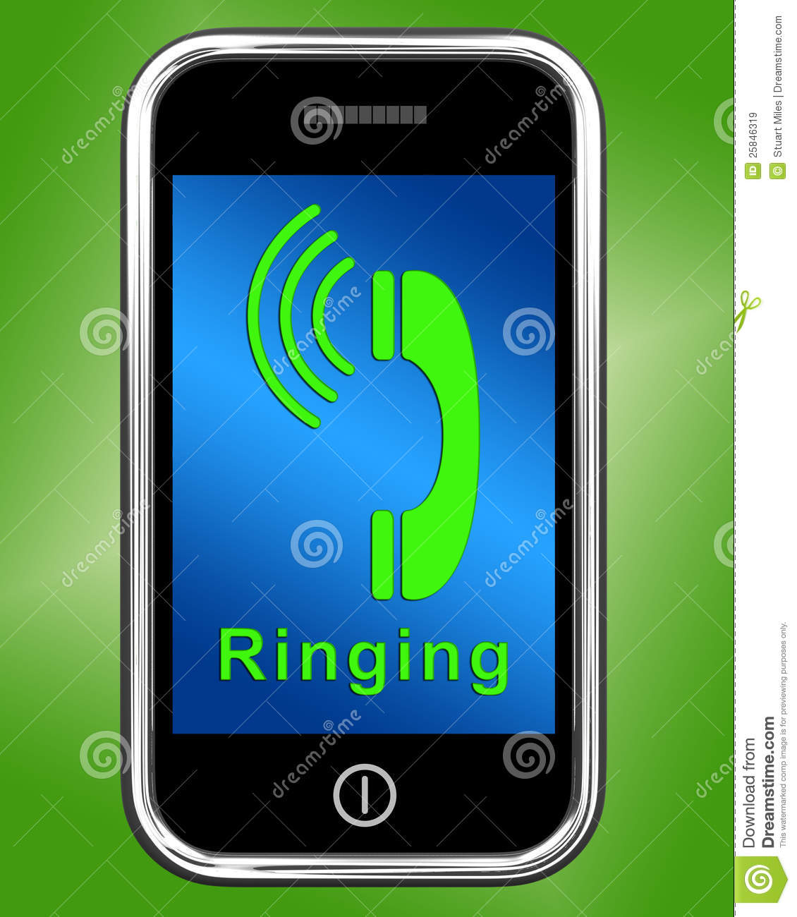 Regular Phone Ring On S