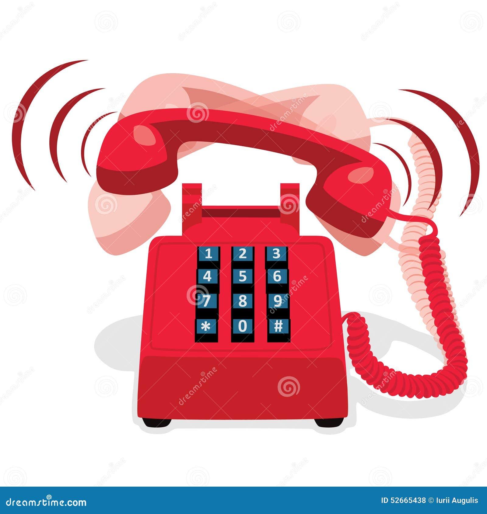 clip art of phone ringing - photo #38