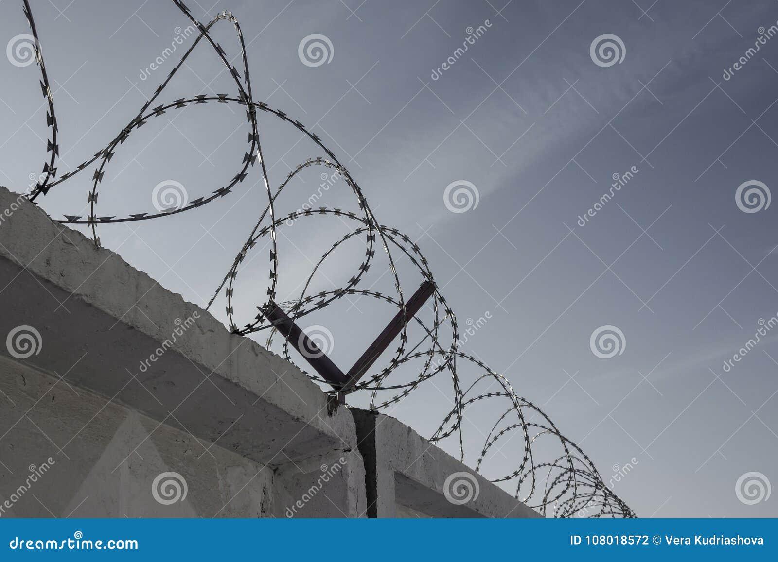 Restriction Of Freedom, Bondage. Stock Photo - Image of fencing ...