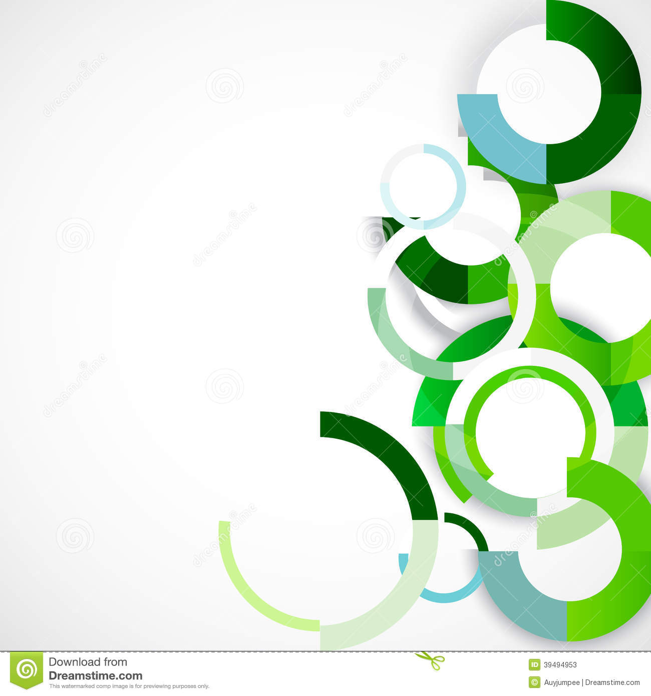 Rings Geometric Shapes Abstract Background , Vector & Illustration ...